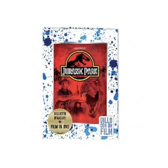 BIGLIETTO AUGURI CON DVD FILM - UNIVERSAL PICTURES JURASSIC PARK [4357-00]