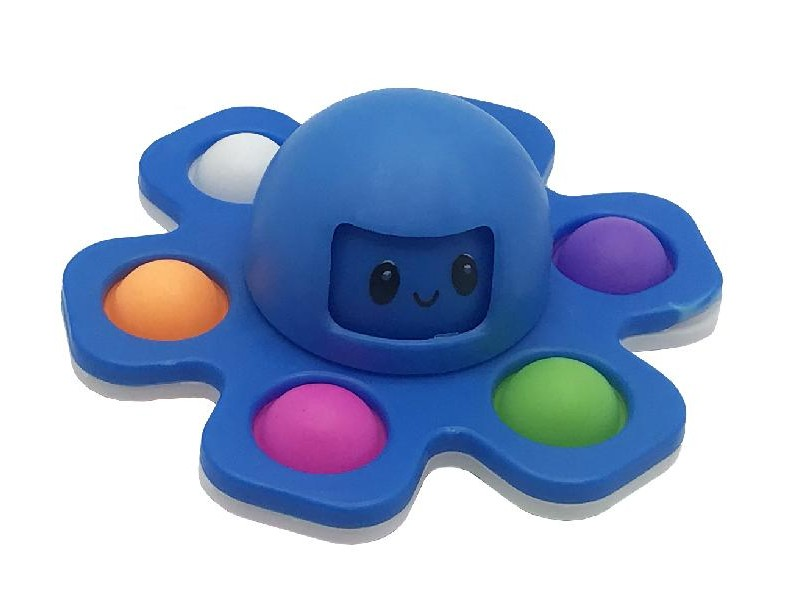 NEW CRAZY POP Octopus - pop it colore blu [4587-00]