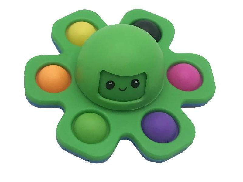 NEW CRAZY POP Octopus - pop it colore verde [4589-00]