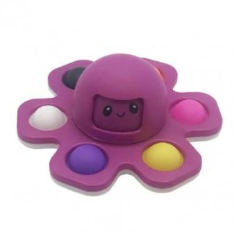 NEW CRAZY POP Octopus - pop it colore viola [4590-00]