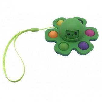NEW CRAZY POP Octopus - pop it colore verde [4589-30]