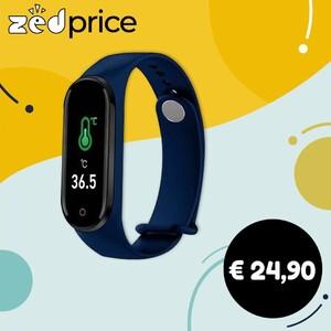 Lo Smart Watch ⌚ che ti permette di avere la tua temperatura corporea sempre sotto controllo e molto molto di più... - rilevazione della temperatura corporea - calcolo delle calorie bruciate - conta passi - monitoraggio del battito cardiaco - avvisi di chiamata, messaggi, notifiche - monitoraggio del sonno - monitoraggio pressione sanguigna e saturazione ossigeno Quadrante rettangolare misura 1.5x4.5 cm Cinturino in silicone regolabile #zedprice #smartwatch #rilevazionetemperatura #orologiosmart #orologiosmartwatch #orologiofitness #contacalorie #bruciacalorie #orologiosportivo #orologiodapolso #orologiodigitale #shoppingonline #ecommerce #elettronica
